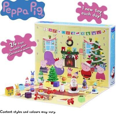 Peppa Pig Advent Calendar Christmas XMAS - Includes Toys and Figures