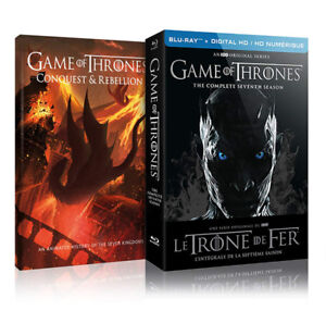 Game of Thrones, season 7 complete, Blu-Ray