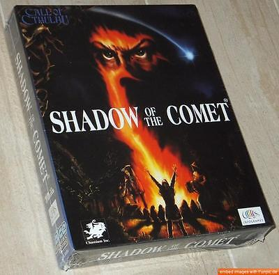 CALL OF CTHULHU: Shadow of the Comet ~ IBM PC DOS / BOXED ~ NEU/SEALED ~ english