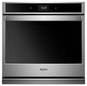 """Whirlpool WOS72EC0HS 30"""" Smart Single Wall Oven with True Convec"""