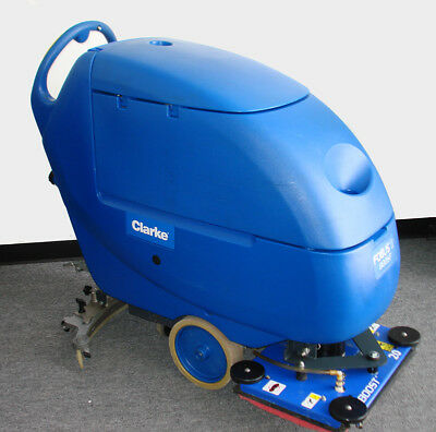Clarke Focus Ii Boost L20 Compact Walk Behind Scrubber 24v New Batteries