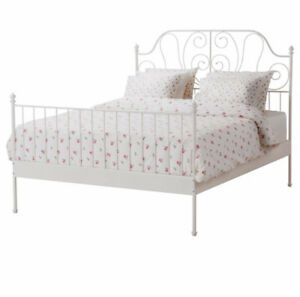 King Bed Frame and Mattress IKEA
