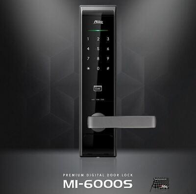 Milre MI-6000S Digital Door Lock Keyless 2Way RF Cards Password
