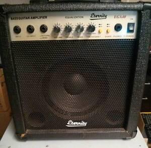 Eternity Bass Guitar Amp Amplifier 40W with EQ/Equaliser EGA40 Kedron Brisbane North East Preview