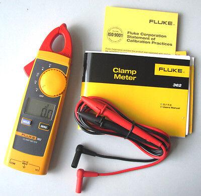 Fluke 362 Handheld Digital Multimeter Clamp Meter Tester Acdc True-rms 200a
