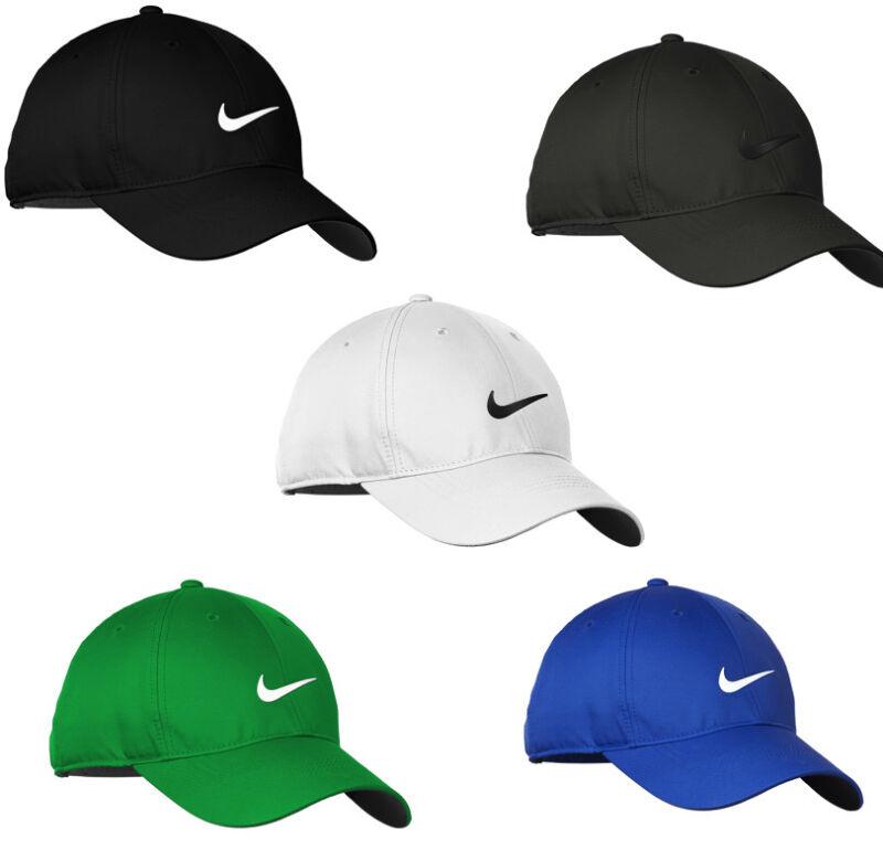NIKE Dri-Fit Swoosh Front Hat Mens Adjustable Cap 548533 - Various Colors