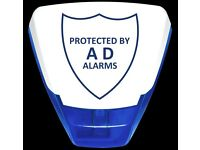Security Alarms Fitted from £199 / CCTV Fitted from £395