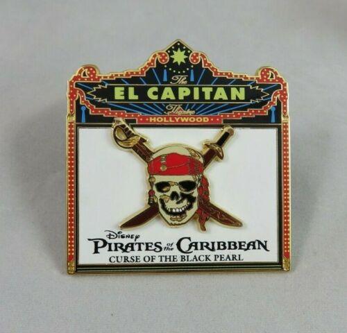 Disney DSF Pin - El Capitan Marquee - Pirates of the Caribbean Curse Black Pearl