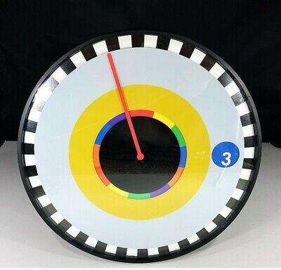 """Designer Sprocket Wall Clock By """"Milton Glaser"""" 25cm Modern Design By Kikkerland"""