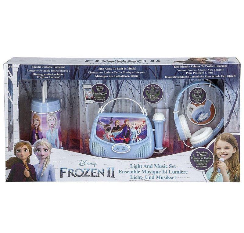 Frozen 2 Light and Karaoke Music Collector Set Lantern/Sing Along/Headphones