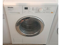 w607 white miele 6kg 1200spin washing machine comes with warranty can be delivered or collected