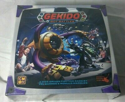 GEKIDO BOT BATTLES BOARD GAME BRAND NEW & SEALED