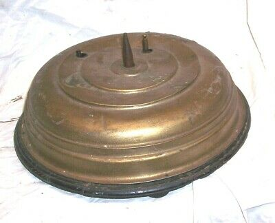 Antique German Rotating Musical Christmas Tree Stand For Parts