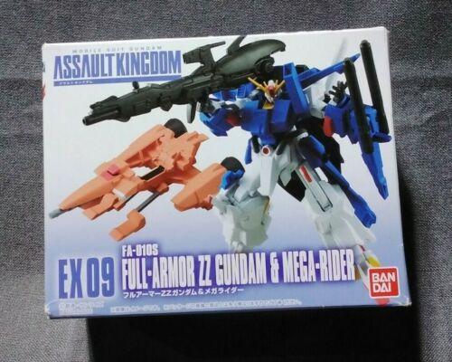 Bandai Assault Kingdom Full-Armor ZZ Gundam & Mega-Rider Figure