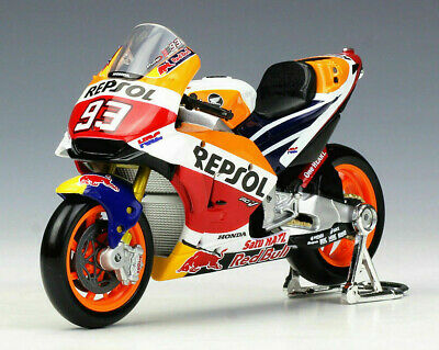 MARC MARQUEZ # 93 1:18 Repsol HONDA Moto GP Toy Model Race Bike Racing