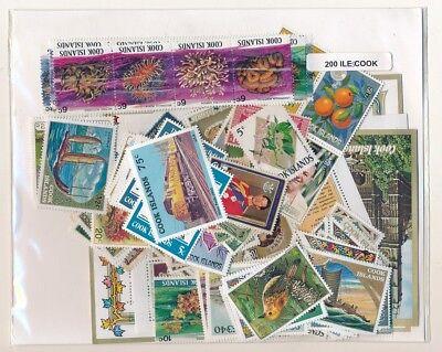 Cook       US 200 sellos diferentes