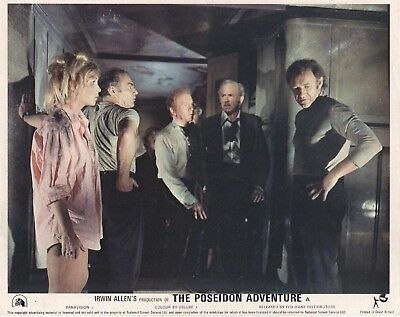 THE POSEIDON ADVENTURE lobby card GENE HACKMAN, SHELLEY WINTERS #8