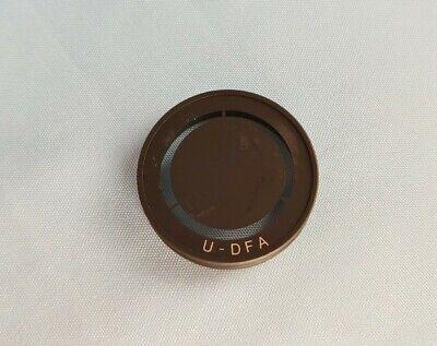 Olympus Microscope U-dfa Dark Field Darkfield For Universal Condenser