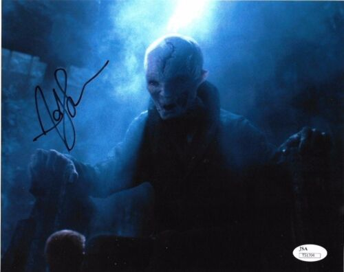 Andy Serkis Star Wars Autographed Signed 8x10 Photo JSA COA #S10