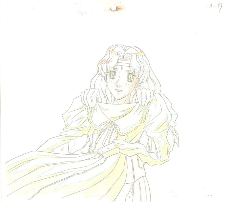 Anime Genga not Cel Escaflowne #51
