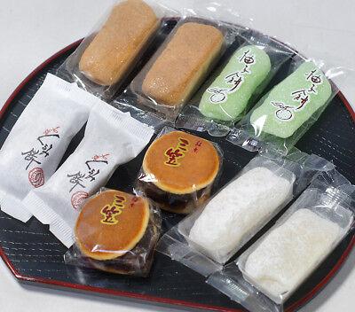 Japanese Assorted MOCHI 4 kinds & Bite size Dorayaki Original Sweets Snack set