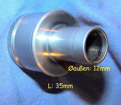 3x DRÄGER MEDICAL 8408063-00 Anschluss Stück Ersatzteil Connecting Piece Spare P