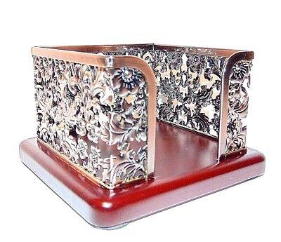 Memo Note Holder Beautiful Elegant Design Memo Holder Steel Bronze