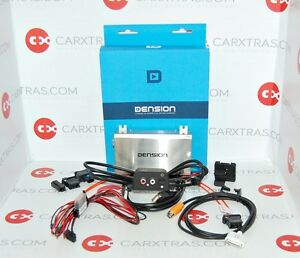 NEW DENSION GATEWAY 500 iPhone USB AUX IN ADAPTER for AUDI with MMI 2G