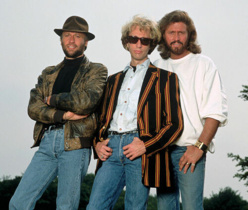 THE BEE GEES - MUSIC PHOTO #E-117