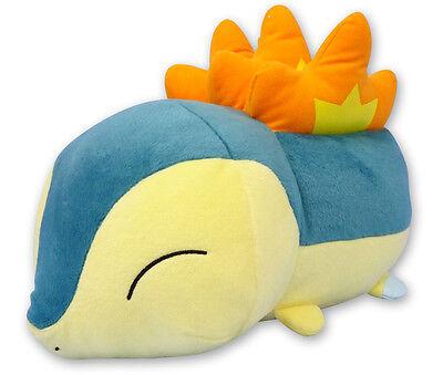 "1x Banpresto (36859) Pokemon Go Stackable 7.5"" Cyndaquil Stuffed Plush Doll Toy"