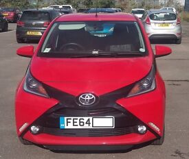 Toyota Aygo 2014 (64) Red. Immaculate condition. One previous owner