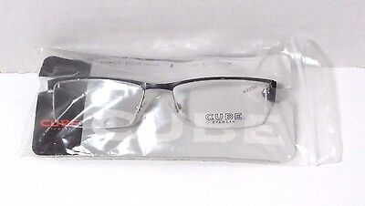 CUBE Eyewear Prescription Eyeglasses CB 10001 Black Frame 53-17-135mm