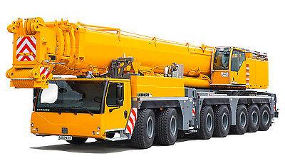 6 - Liebherr LTM 1400 7.1 Crane Stickers