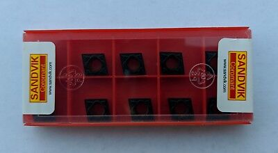 Sandvik Ccmt 32.52-pm Ccmt 09t308-pm 4225 Turning Carbide Inserts 10 Pcs