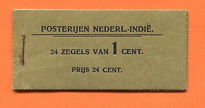 NIEDERLÄNDISCH INDIEN 1904  MARKENHEFTCHEN NVPH # 1  TOP STAMP BOOKLET !