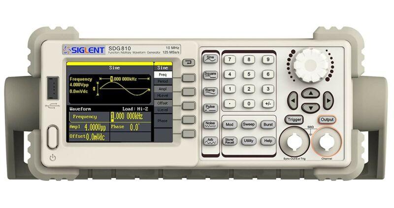 Siglent Technologies SDG810 Waveform Generator 10 MHZ