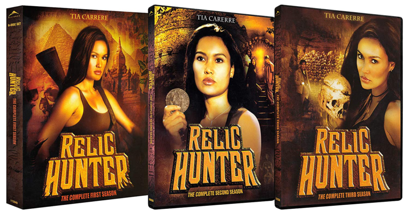 Relic Hunter: The Complete Series Seasons 1-3 Bundle DVD Act