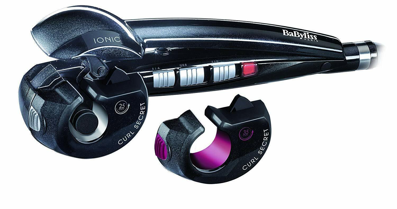 BABYLISS C1300E Curl Secret Ionic  mit 2 Aufsätzen für große und kleine Locken,