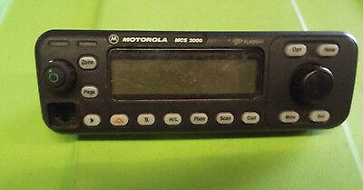 Motorola Mcs 2000 Flashport Two Way Radio Front Control Panel Hcn1117b Z11