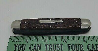 Vintage Remington R4353 2 Blade Silver Bullet Knife Nice Handles Great Snap Used