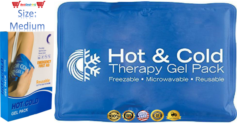 Roscoe Reusable Cold Pack and Hot Pack – Ice Pack For Knee