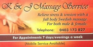 K & J MASSAGE SERVICE Tapping Wanneroo Area Preview