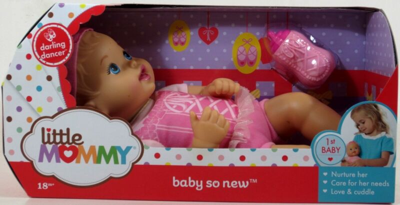 Little Mommy BABY SO NEW Darling Dancer Doll NIP newborn #ZZ