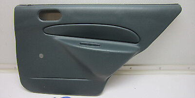 97-02 ESCORT TRACER RIGHT REAR BACK DOOR PANEL PASSENGER SIDE CAR GREEN R RH OEM Green Ford Grips
