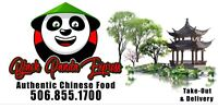 CHINESE COOK WANTED