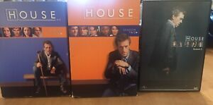 Season 1 to 3 House DVDs