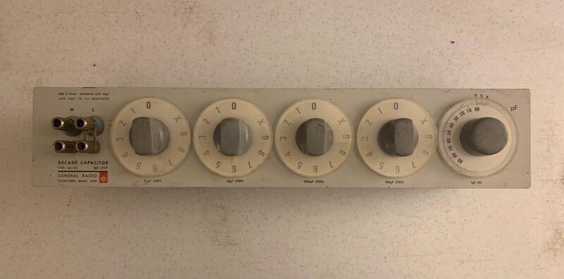 General Radio Decade Capacitor Type 1412-BC