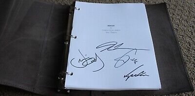 HARRIET MOVIE HAND SIGNED AUTOGRAPH SCREENPLAY SCRIPT FYC FOR YOUR