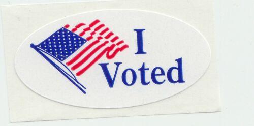 "I Voted - vinyl sticker 1.5"" sticker"