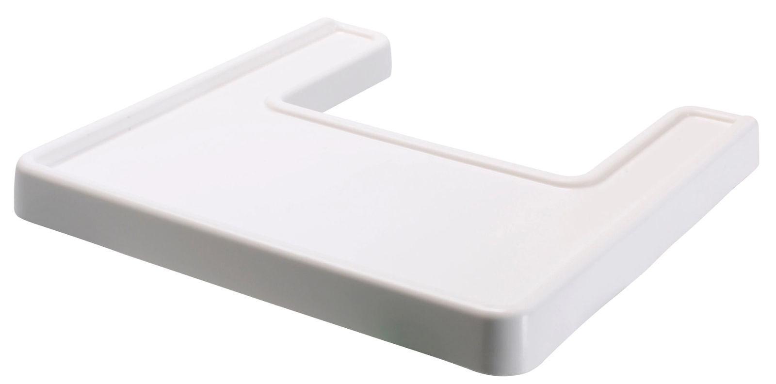 IKEA ANTILOP Tablett für Kinderstuhl weiß Zubehör Kindersitz Essplatte Kind